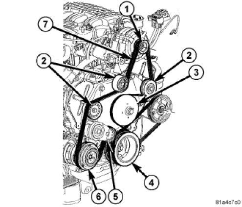 Belt diagram   Dodge Nitro ForumDodge Nitro Forum