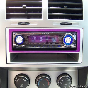 Custom Dodge Nitro Stereo