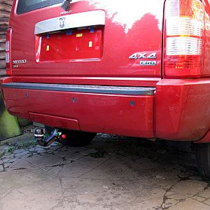 Westfalia towbar, hitch fitted
