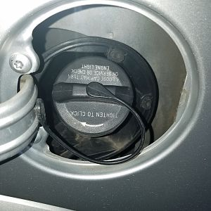 Fuel Filler Housing Problem