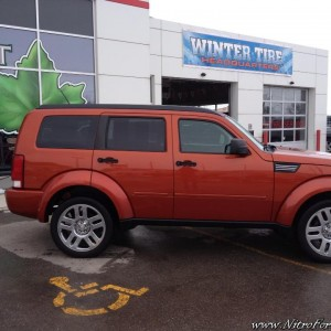 2008 Dodge Nitro 4X4 3.7L SLT Sunburst Orange
