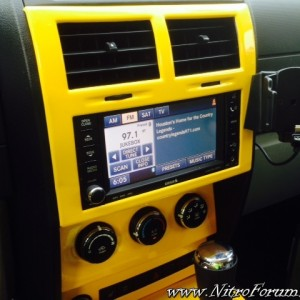 Color Matched Interior Dash Trim