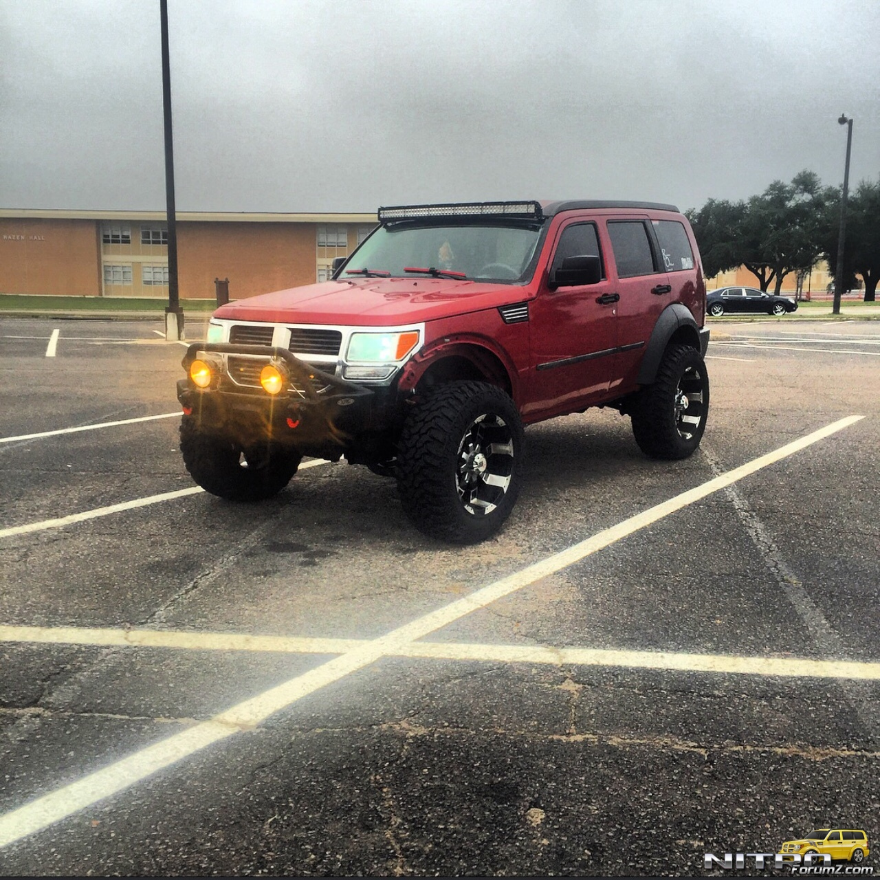 4 Inch Jeepin By Al Lift With 35 Inch Tires Dodge Nitro Forum