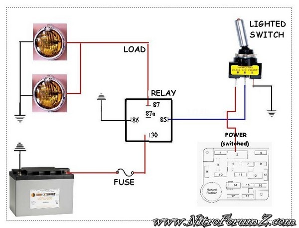 fog lights wiring diagram power steering pump diagram