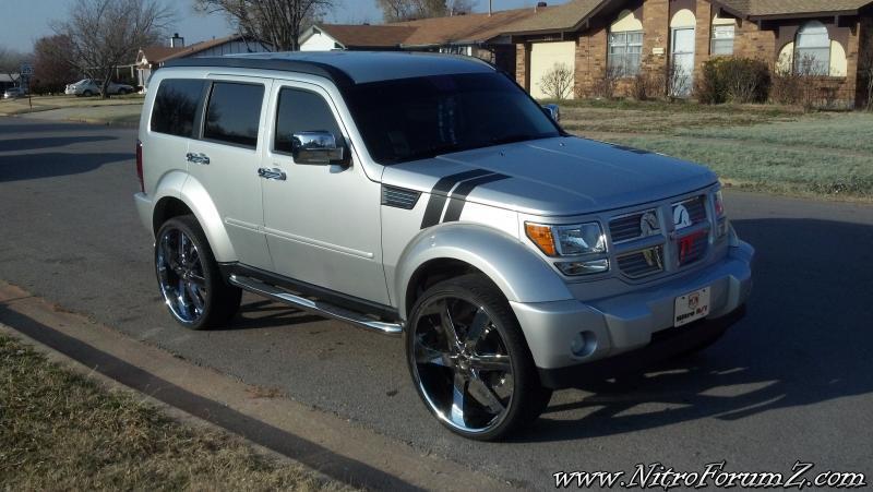 Dodge nitro rt on 26 inch wheels dodge nitro forum dodge nitro rt on 26 inch wheels sciox Choice Image