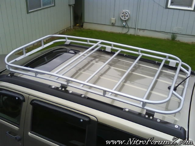 Roof Rack Detail Dodge Nitro Forum