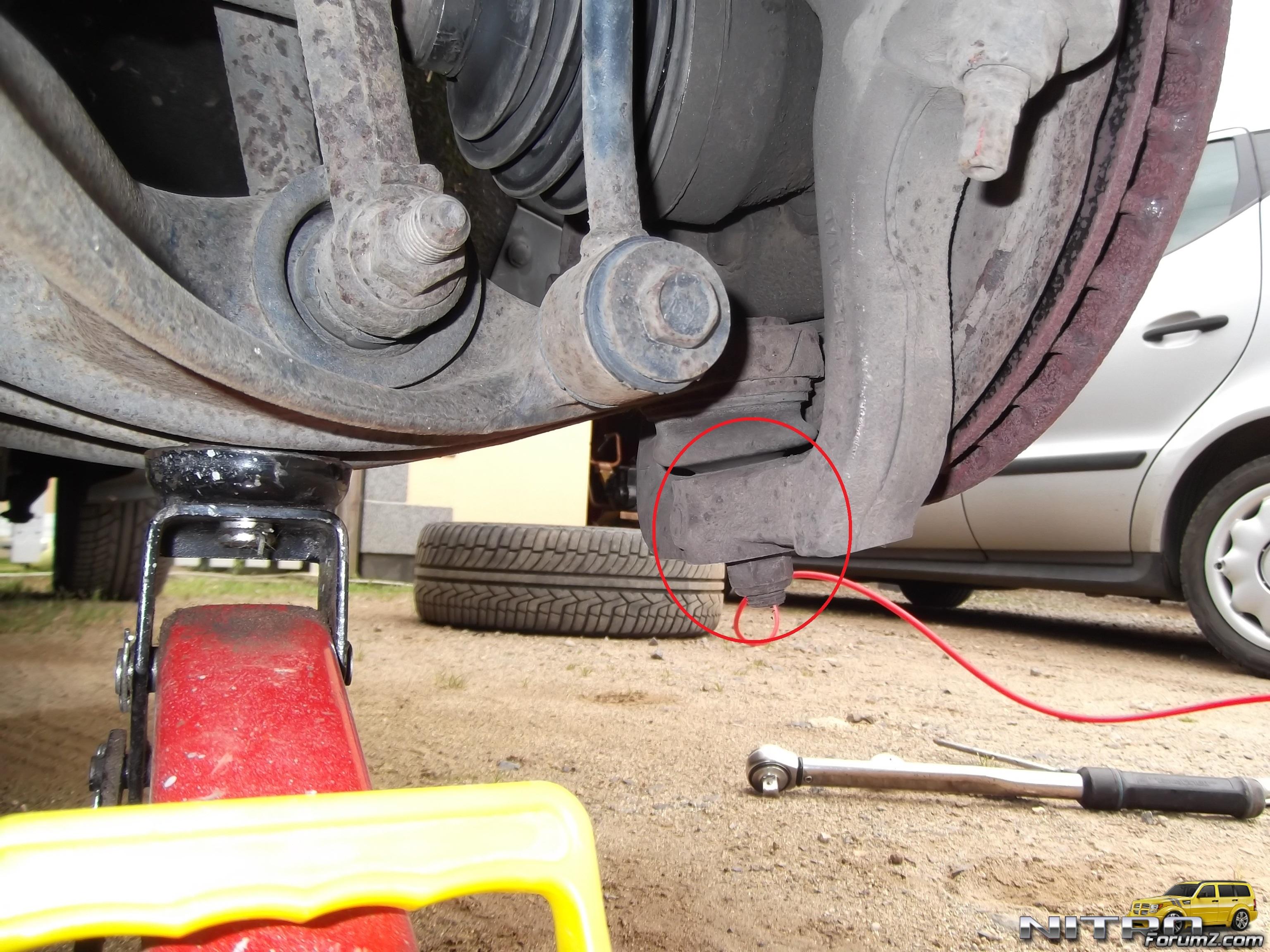 Clunking Noise When I Brake? | Dodge Nitro Forum